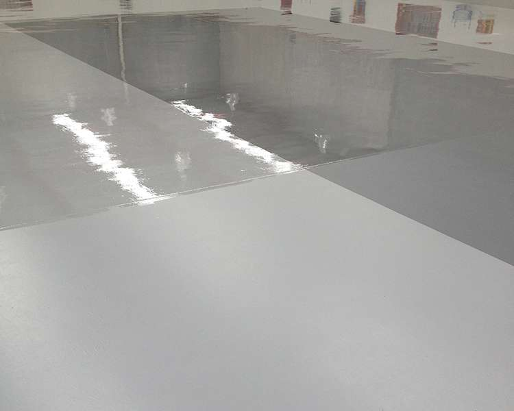 Water-based epoxy coating for concrete - Fortis